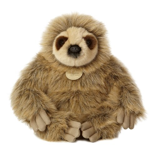 "Aurora World Miyoni Sloth Plush, 12"" Tall"