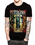 Stand-Zone My Dying Bride Feel The Misery Men Black T Shirt For Mens (Large)