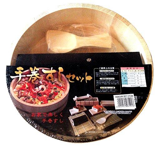 lhangiri domechan un grosso contenitore in legno naturale e non trattato che serve per lavorare e lasciar riposare il riso per il sushi
