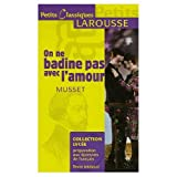 img - for On ne Badine Pas avec l'Amour book / textbook / text book