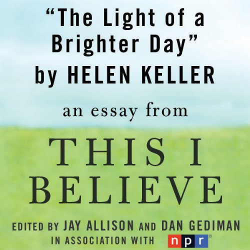 this i believe essay making the This i believe essays: over 180,000 this i believe essays, this i believe term papers, this i believe research paper, book reports 184 990 essays, term and research papers available for.