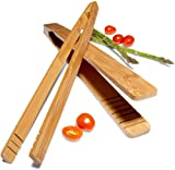 Tom Douglas by Pinzon Bamboo Tongs, Set of 2