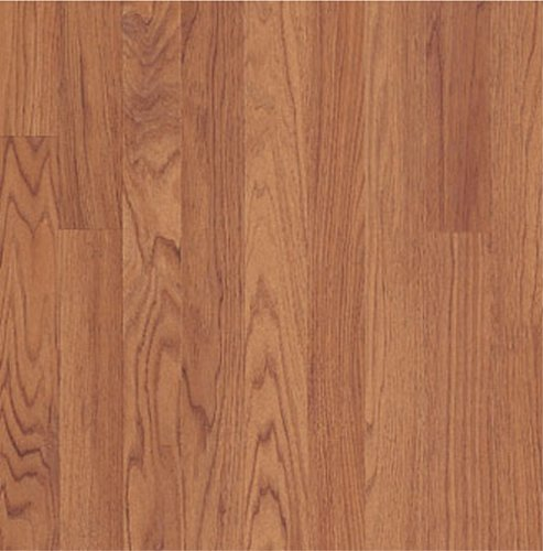 Pergo 055132 Elegant Expressions Laminate Flooring, 7.6-Inch by 47.4-Inch Plank Size with 14.99 Total Square Feet per Carton, Riverside Red Oak