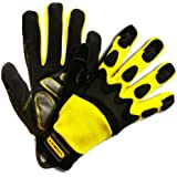 Stanley S77562 Prodex High Dexterity Glove with TPR Knuckle Protection, Medium