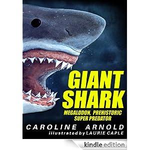 My book Giant Shark Me...