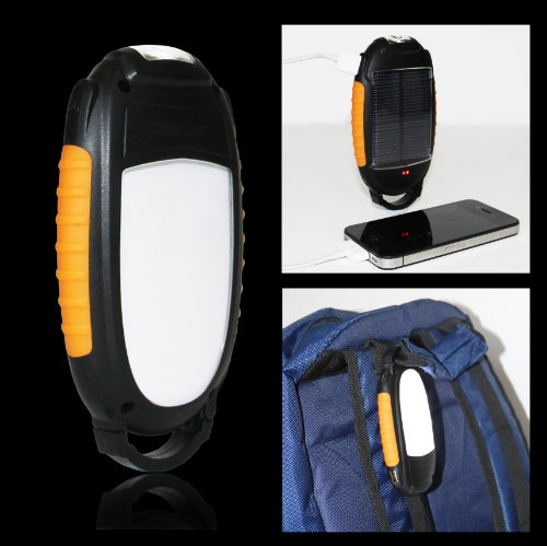 Frostfire multi purpose solar outdoor light,