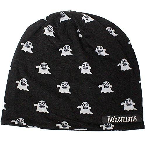 (ボヘミアンズ) Bohemians『W-CAP -SMALL BOGEY-』(BLACK) (S, BLACK)
