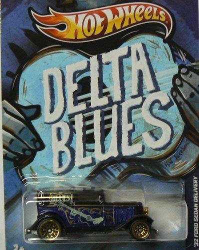 Hot Wheels HW Jukebox 4/32 Delta Blues '32 Ford Sedan Delivery