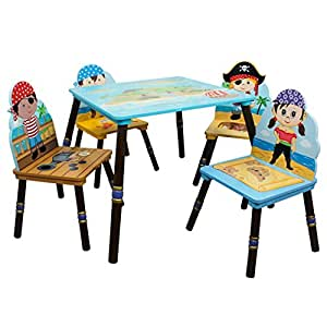 Fantasy Fields Pirates Island Table and Set of 4 Chairs available at Amazon for Rs.120436