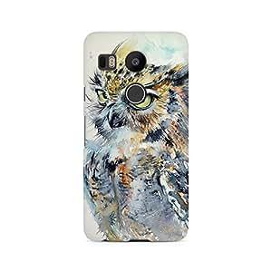 Mobicture Owl Premium Printed Case For LG Nexus 5X