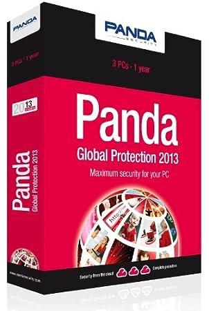 Panda Global Protection 2013 - 3 Pcs 1 Year