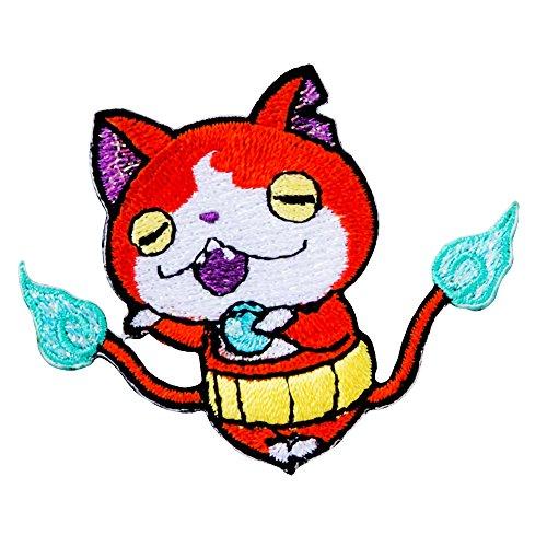 妖怪ウォッチ刺繍デコシール ジバニャン S03Y0087