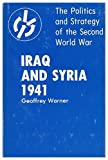 img - for Iraq and Syria 1941 (The Politics and strategy of the Second World War) book / textbook / text book