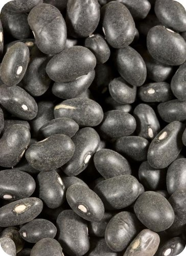 Organic Black Turtle Beans - 6 x 15 ounce units chun guang coconut candy 5 6 ounce