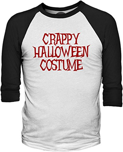 Big Texas Crappy Halloween Costume (Red) 3/4-Sleeve Baseball T-Shirt