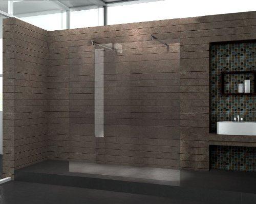 Dusche Freistehende Glaswand : Preisvergleich – freistehende 10 mm Duschwand AQUOS-Dublo 160 x 200