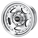 American Racing Series AR23 Machined With Clear Coat - 15 X 7 Inch Wheel