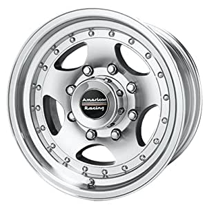 """American Racing Custom Wheels AR23 Machined Wheel With Clearcoat (16x8""""/8x165.1mm, 0mm offset)"""