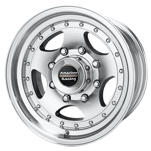 American Racing Series AR23 Machined With Clear Coat - 16 X 8 Inch Wheel