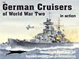 img - for German Cruisers of World War II in action - Warships No. 24 book / textbook / text book