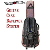 Walker & Williams CS-2 Case Saddle Backpack For Any Guitar Case