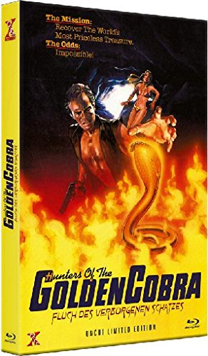 Hunters of the Golden Cobra - Fluch des verborgenen Schatzes - Uncut [Blu-ray] [Limited Edition]