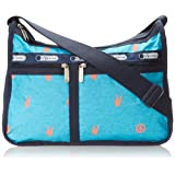 LeSportsac Deluxe Everyday Handbag,Peace Out,One Size