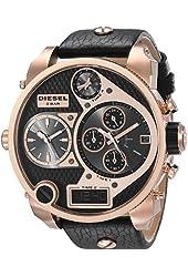 Diesel Men's DZ7261 Mr. Daddy Analog Display Analog Quartz Black Watch