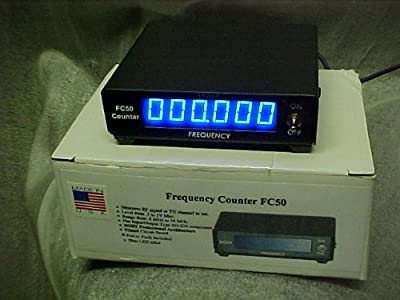 Dosy FC50P Cb Ham Radio Frequency Counter .5 MHz to 50 MHz Inline Pl259 to So239