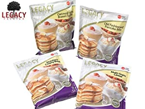 Emergency Food Storage Breakfast Samples - 16 Large Servings - 6 Lbs - Prepper Freeze Dried Meal Supply - Hiking / Backpacking / Camping / Doomsday Survival Supply