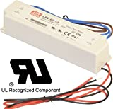 Meanwell UL Approved 12V 60W, 2 Years Warranty, Waterproof IP67 High Performance Quality Constant voltage LED Power Supply Adatper by LEDJump
