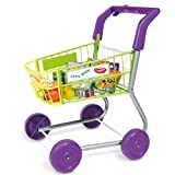 New Casdon Childrens Activity Food Shopping Trolley Toy