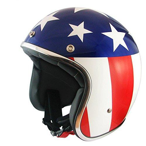 MT casque casque jet le mans drapeau des états-unis