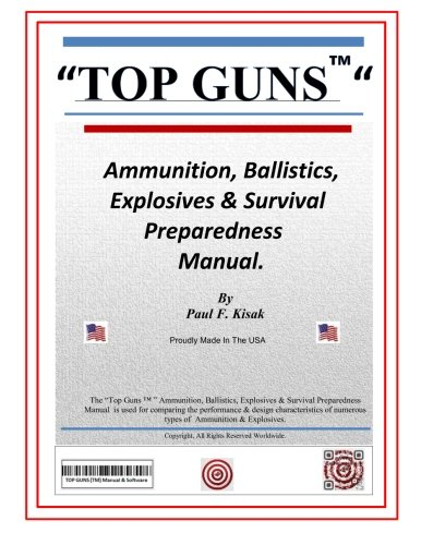 TOP GUNS Ammunition, Ballistics, Explosives & Survival Preparedness Manual