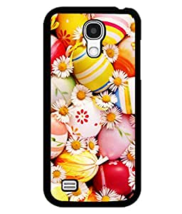 printtech Easter Eggs Flowers Colored Back Case Cover for Samsung Galaxy S4 Mini::Samsung Galaxy S4 Mini i9190