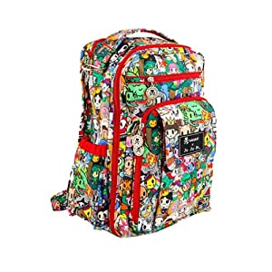 Ju-Ju-Be Be Right Back Backpack Style Diaper Bag - Tokidoki Fairytella - Fairytella from Ju-Ju-Be