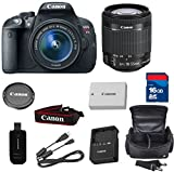 Canon T5i Digital SLR Camera with EF-S 18-55mm f/3.5-5.6 IS STM Lens + High Speed 16GB Memory Card + High Speed Reader + 5pc Bundle - International Version
