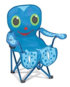 Melissa & Doug Sunny Patch Flex Octopus Chair Color: Blue Outdoor/Garden/Yard Maintenance (Patio & Lawn upkeep) from Melissa & Doug