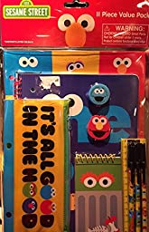 Sesame Street 11 Piece School Stationery Value Pack