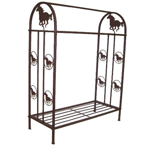 Ll Home Quilt Rack with Horse