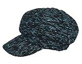 (ビグッド)Bigood レディース キャスケット キャップ 帽子 女優帽 ハンチング帽 ベレー帽 小顔効果 カジュアル ファッション小物 キャップ(グリーンC)
