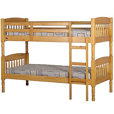 WorldStores Albany Solid Pine Bunk Bed