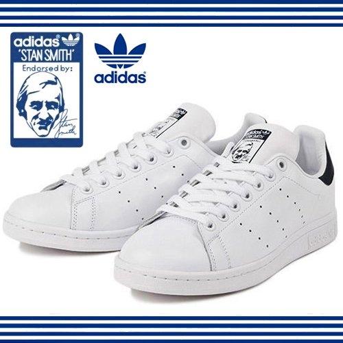 (アディダス) adidas STAN SMITH スタンスミス M20324 M20325 M20327 ホワイト/ネイビー 25.5cm