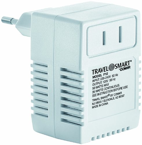 Travel Smart by Conair International Transformer, 50 Watt