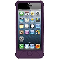 Amzer Silicone Skin Jelly Case For IPhone 5 (Purple)