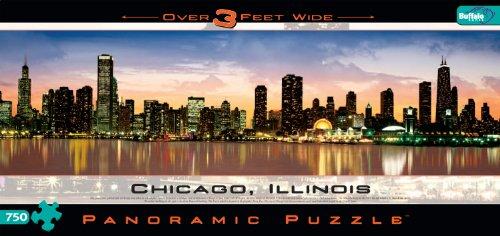 Cheap Fun Buffalo Games Chicago – Panoramic Puzzle (B00005RZET)