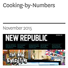 Cooking-by-Numbers (       UNABRIDGED) by Corby Kummer Narrated by Derek Shetterly