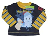 BABY BOYS LONG SLEEVED TOP IN THE NIGHT GARDEN AGE 6 MONTHS TO 3 YEARS NAVY