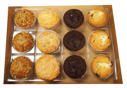 Banana Nut, Coffee Cake, Double Chocolate Chip, Blueberry 4.5 Oz. Muffins (12 Per Box)