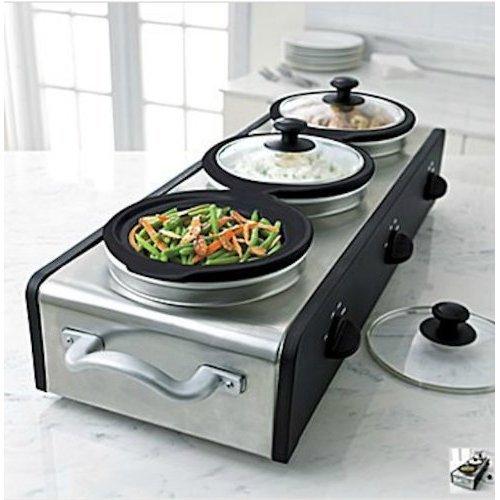 Cheap Sensio Bella 13576 Triple Buffet Server (B0051QAY90)